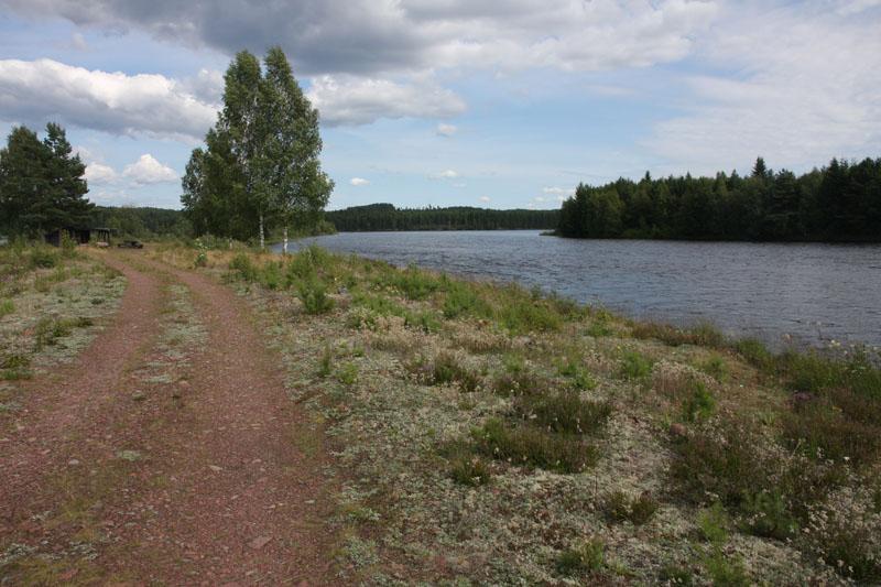 l'Österdalälven et l'abri de Laxholmen