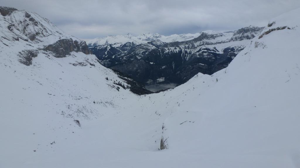 le Chablais depuis le sommet