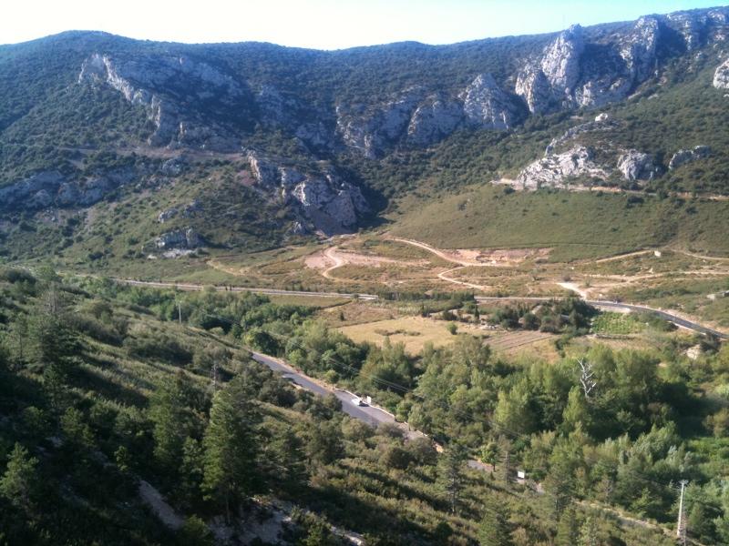 la vue depuis la Pichona